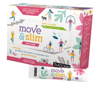 MOVE&SLIM IODIO FREE SCIROPPO 25 STICKPACK 10 ML - Farmaseller
