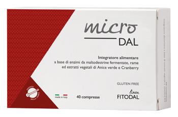 MICRODAL 40 COMPRESSE FITODAL - Farmaseller