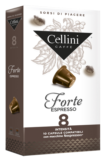 CELLINI FARMA FORTE INTENSITA' 8 10 CAPSULE CAFFE' 50 G - Farmacia 33