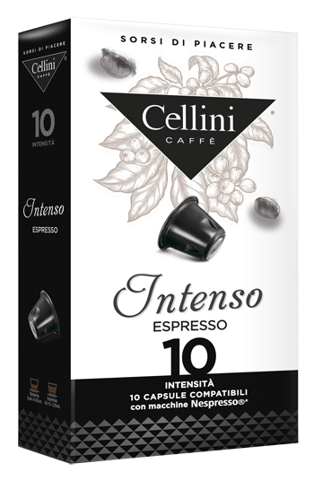 CELLINI FARMA INTENSO INTENSITA' 10 10 CAPSULE CAFFE' 50 G - Farmacia 33