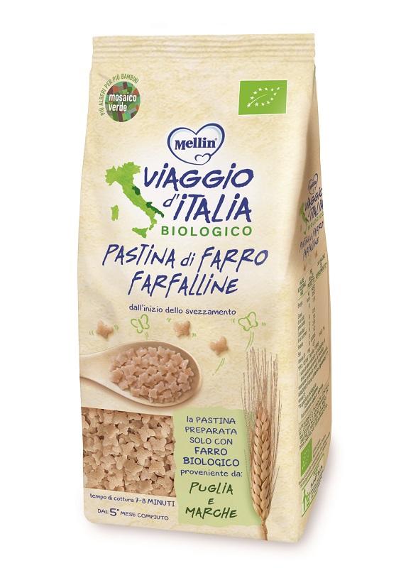 VIAGGIO ITALIA PASTINA DI FARRO FARFALLE 320 G - Farmaseller