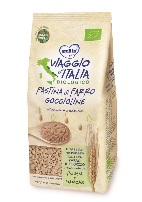 VIAGGIO ITALIA PASTINA DI FARRO GOCCIOLINE 320 G - Farmaseller