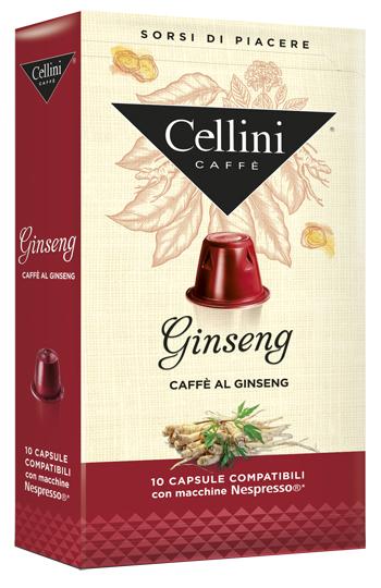 CELLINI FARMA GINSENG 10 CAPSULE - Farmacia 33