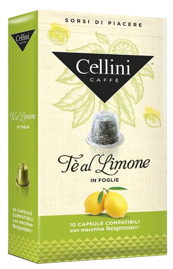 CELLINI FARMA TE' LIMONE 10 CAPSULE - Farmacia 33