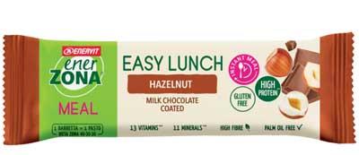 ENERZONA EASY LUNCH HAZELNUT BARRETTA 58 G - Farmacia Massaro