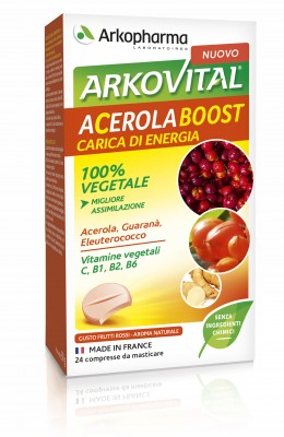 ACEROLA BOOST 24 COMPRESSE - farmaciafalquigolfoparadiso.it