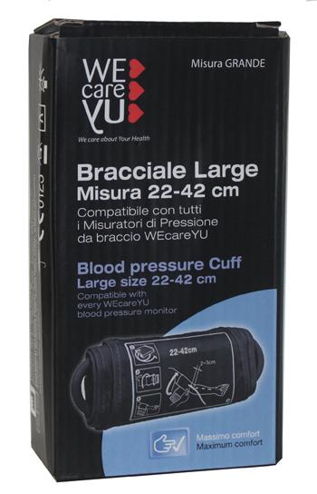 WECAREYU BRACC LARGE MISURATORE PRESSIONE - Farmacia Castel del Monte