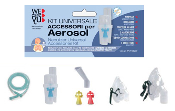 WECAREYU KIT ACCESSORI AEROSOL UNIVERSALE - Farmacia Puddu Baire S.r.l.