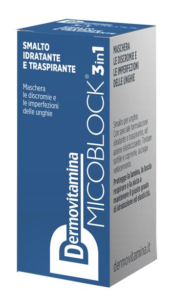 DERMOVITAMINA MICO SMALTO BLU 5 ML - Farmaseller