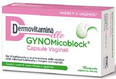 DERMOVITAMINA GYNOMICO 10 CAPSULE VAGINALI - Farmaciasconti.it