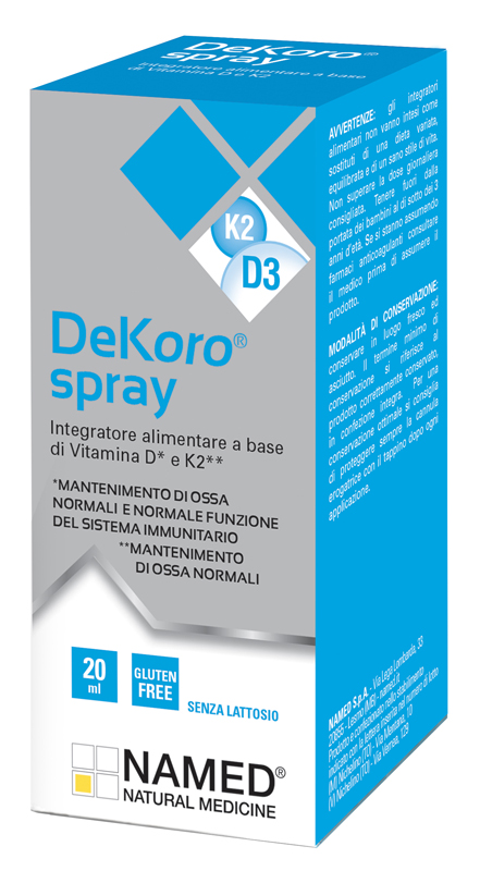 DEKORO SPRAY 20 ML - latuafarmaciaonline.it