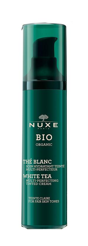 NUXE BIO ORGANIC THE' BLANC SOIN HYDRATANT TEINTE' MULTI PERFECTEUR TEINTE CLAIRE 50 ML - Farmaedo.it