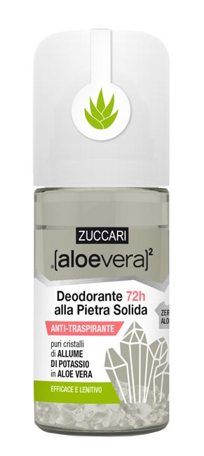 ALOEVERA2 DEODORANTE PIETRA SOLIDA ROLL ON 50 ML - Farmacia Giotti