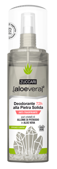 ALOEVERA2 DEODORANTE PIETRA SOLIDA SPRAY 100 ML - Farmacia 33