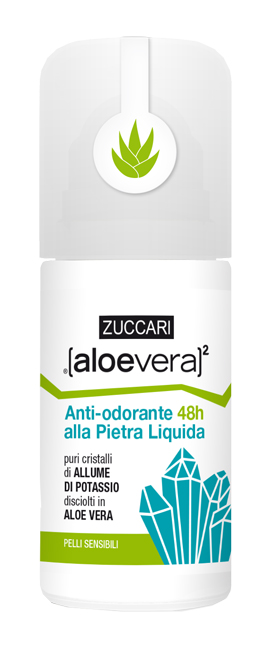 ALOEVERA2 ANTIODORE PIETRA LIQUIDO ROLL ON 50 ML - Farmacia 33