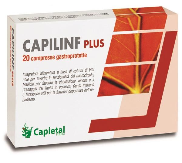 CAPILINF PLUS 20 COMPRESSE - Farmaseller