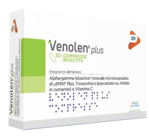 VENOLEN PLUS 30 COMPRESSE RIVESTITE - Farmapass