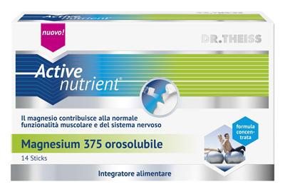 ACTIVE NUTRIENT MAGNESIUM 375 14 STICK OROSOLUBILI - Farmapage.it