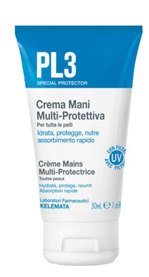 PL3 CREMA MANI MULTI PROTETTIVA 50 ML - Zfarmacia