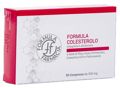 FF FORMULA COLESTEROLO 30 COMPRESSE - Farmacianuova.eu