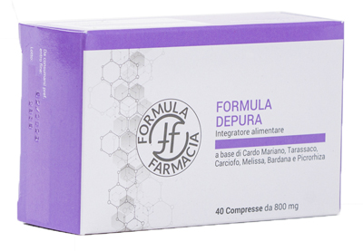 FF FORMULA DEPURA 40 COMPRESSE - Farmacianuova.eu