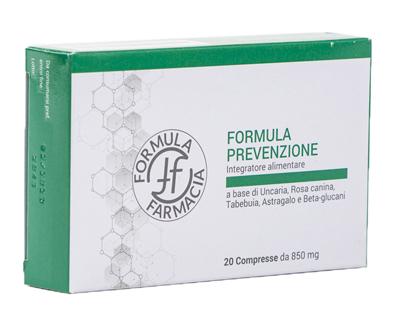 FF FORMULA PREVENZIONE 20 COMPRESSE - Farmacianuova.eu
