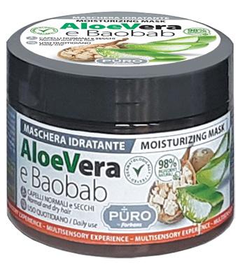 PURO MASCHERA ALOE E BAOBAB 250 ML - Farmacia Puddu Baire S.r.l.