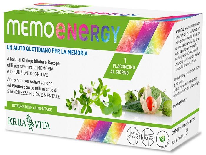 MEMO ENERGY 10 FLACONCINI - Farmacia Centrale Dr. Monteleone Adriano