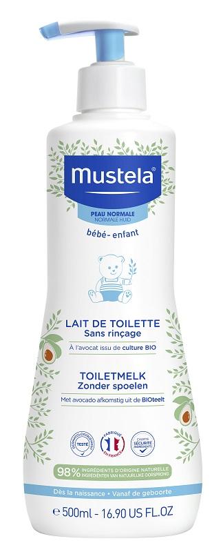 MUSTELA PELLE NORMALE LATTE DI TOILETTE 500 ML - Farmaseller