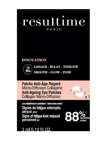 RESULTIME PATCHS ANTI AGE REGARD 10 ML -