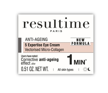RESULTIME CREME YEUX 5 EXPERTISES MICRO COLLAGENE 15 ML -