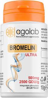 BROMELIN ULTRA 20 CAPSULE - Farmafirst.it
