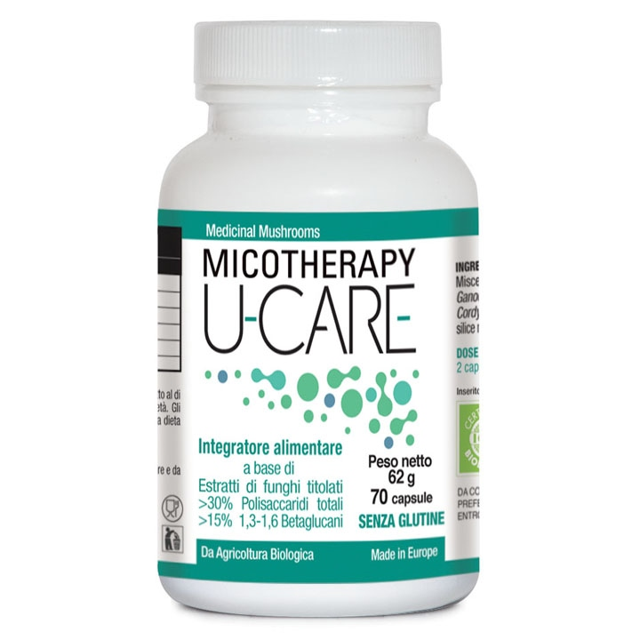 MICOTHERAPY U-CARE 70 CAPSULE - Farmaseller