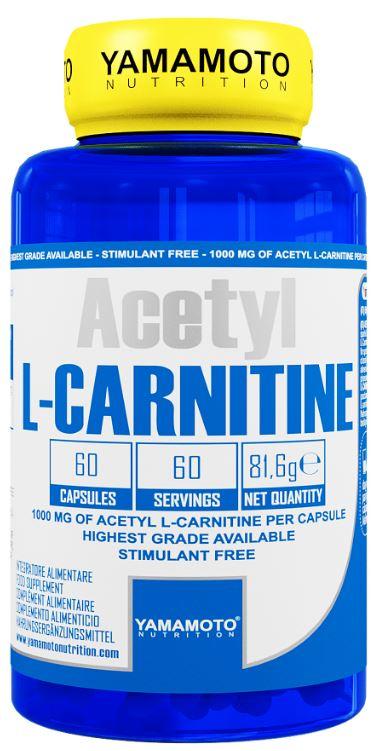 YAMAMOTO NUTRITION ACETYL L CARNITINE 1000MG 60 CAPSULE - Farmacia Massaro
