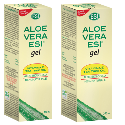 ESI ALOE VERA GEL VITAMINA E TEA TREE 200 ML - latuafarmaciaonline.it