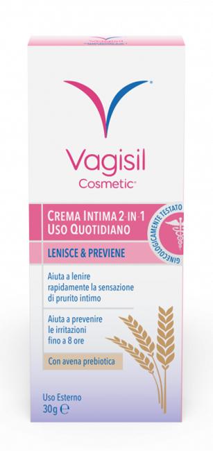 VAGISIL CREMA INTIMA 2 IN 1 USO QUOTIDIANO 30 G - Farmaciasconti.it