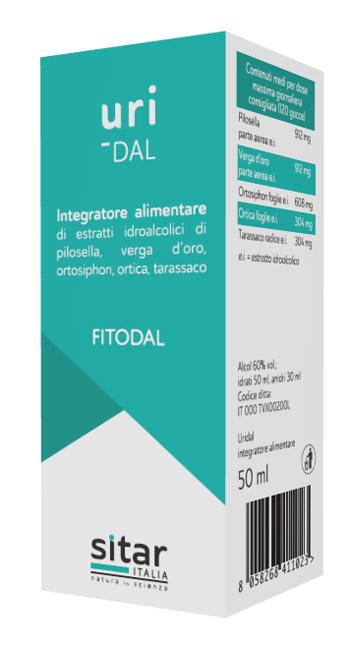 UriDAL Fitodal 50ml - Arcafarma.it