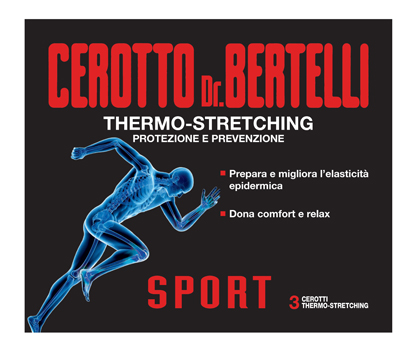 DR BERTELLI CEROTTO SPORT 3 PEZZI - Farmafirst.it