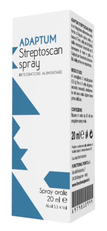 ADAPTUM STREPTOSCAN SPRAY 20 ML - Farmaseller