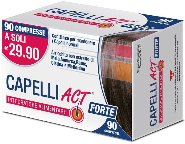 CAPELLI ACT FORTE 90 COMPRESSE - Spacefarma.it