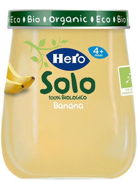 Hero Baby Solo 100% Bio Banana 120g - Arcafarma.it
