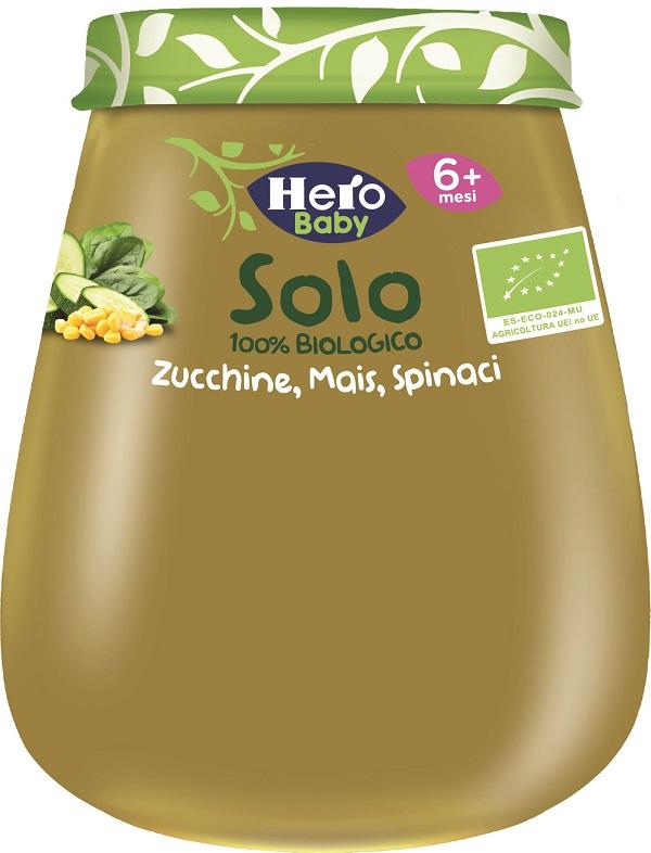 HERO BABY SOLO OMOGENEIZZATO ZUCCHINE MAIS SPINACI 1X120 G - Speedyfarma.it