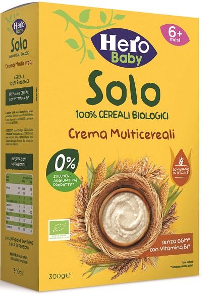HERO SOLO CREMA MULTICEREALI 100% BIO 300 G - Farmaedo.it