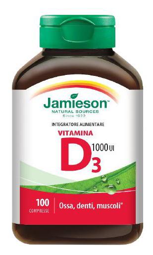 Jamieson Vitamina D3 1000 100 Compresse - latuafarmaciaonline.it