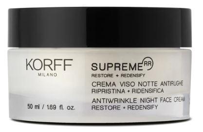 KORFF SUPREME CREMA NOTTE ANTIRUGHE 50 ML - Farmaseller