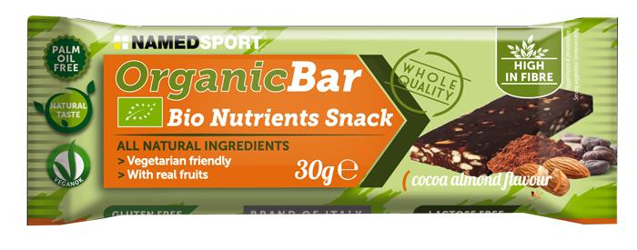 ORGANIC BAR CHOCO-ALMOND BARRETTA 30 G - Farmaseller