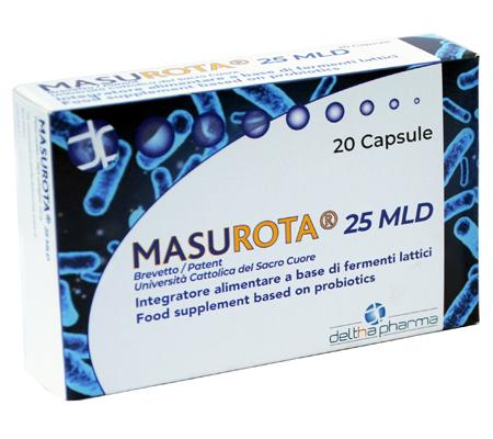 MASUROTA 25MLD 20 CAPSULE - FARMAPRIME