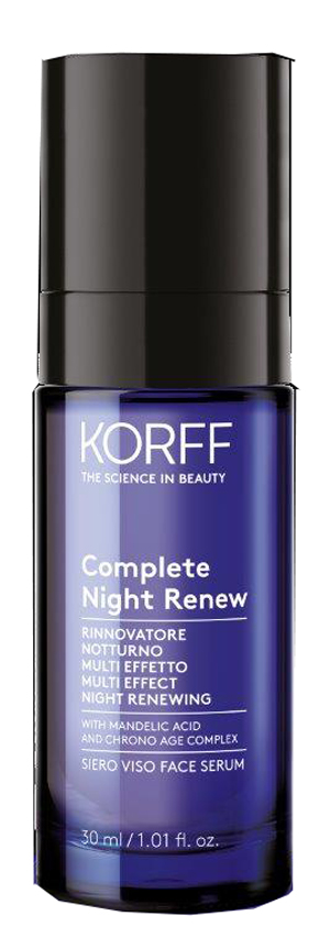 KORFF SIERO COMPLETE NIGHT REVIEW 30 ML - Farmacia Bartoli