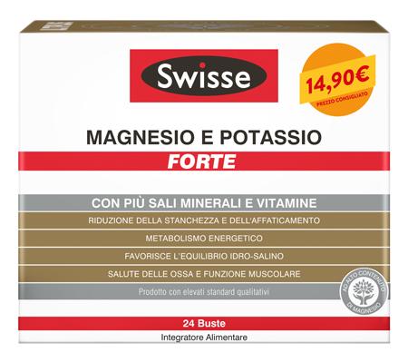 SWISSE MAGNESIO POTASSIO FORTE 24 BUSTINE - Farmaci.me