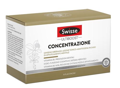 SWISSE CONCENTRAZIONE 8 FLACONCINI DA 30 ML - Farmaci.me